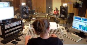 O rádio católico croata este ano comemorou 20 anos de transmissão em Zagreb Foto de Stock