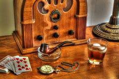 O rádio do avô foto de stock