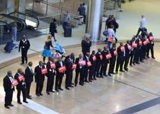 O r Tambo lotnisko międzynarodowe Johannesburg Południowa Afryka Fotografia Royalty Free