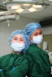 O.r. verpleegsters royalty-vrije stock afbeelding