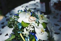 O ramalhete da noiva à moda Flor do casamento Foto de Stock Royalty Free