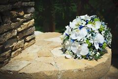 O ramalhete da noiva à moda Flor do casamento Fotografia de Stock Royalty Free
