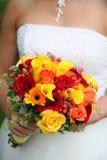 O ramalhete da noiva Foto de Stock