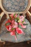 O ramalhete da noiva Foto de Stock Royalty Free