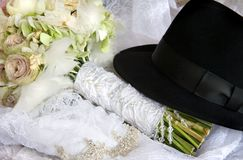 O ramalhete do casamento foto de stock royalty free