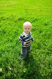 O rapaz pequeno Fotografia de Stock Royalty Free