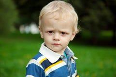 O rapaz pequeno Imagens de Stock