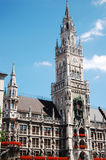 O Rathaus de Monaco de Baviera Fotos de Stock