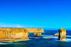 O Razorback, grande estrada do oceano, Victoria, Austrália Fotos de Stock