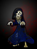 O Reaper desagradável dos desenhos animados Imagens de Stock