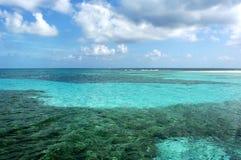 O recife de barreira Fotografia de Stock Royalty Free