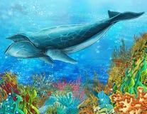 O recife de corais - ilustração para as crianças Imagem de Stock Royalty Free