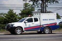 O recipiente da emergência pegara o caminhão imagens de stock