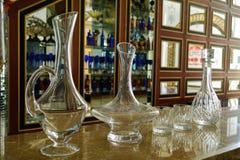 O recipiente de vidro Imagens de Stock Royalty Free