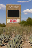 O recurso de M assina dentro Las Vegas, nanovolt o 20 de agosto de 2013 Imagem de Stock