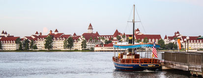 O recurso Floridian grande & os termas de Disney foto de stock