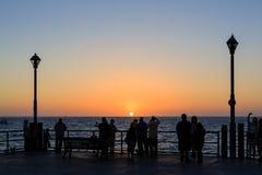 O Redondo Beach bonito Fotografia de Stock Royalty Free