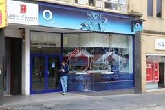 O2 Regno Unito fotografie stock
