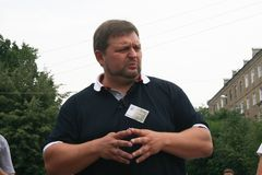 O regulador da região Nikita Belykh de Kirov Fotos de Stock