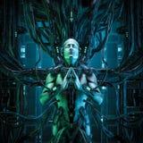 O rei do zen do quantum ilustração do vetor