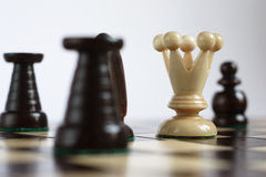 O rei nos problemas Imagem de Stock Royalty Free