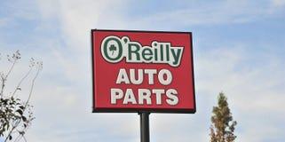 O'Reilly Auto Parts Sign Stock Photos
