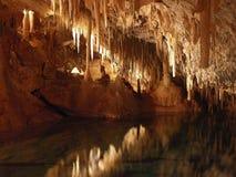 O reino da caverna Fotos de Stock