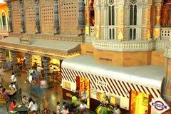 Fachada do Maharashtra, sarjeta da cultura fotografia de stock royalty free