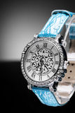 O relógio das mulheres bonitas Imagem de Stock