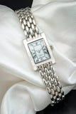 O relógio de pulso da senhora Fotografia de Stock