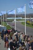 O relógio do espectador a ação da raça em Goodwood Imagem de Stock
