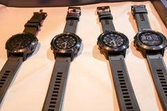 O relógio esperto de Garmin Fenix 5 foi revelado em Tailândia foto de stock royalty free