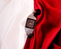 O relógio mecânico dos homens Fotografia de Stock Royalty Free