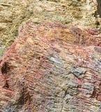 O relevo das rochas Fotos de Stock Royalty Free