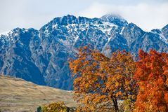 O Remarkables, lago Wakatipu Foto de Stock Royalty Free