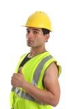 O reparador do construtor manuseia acima fotos de stock royalty free