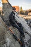O representante da máfia do russo, vândalo novo Fotos de Stock Royalty Free