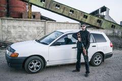 O representante da máfia do russo, vândalo novo Foto de Stock