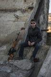 O representante da máfia do russo, vândalo novo Imagem de Stock