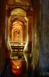 O reservatório subterrâneo Fotografia de Stock