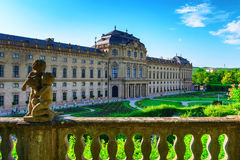 O Residenz de Wurzburg, Alemanha Foto de Stock