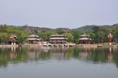 O resort de montanha do verão em Chengde Foto de Stock