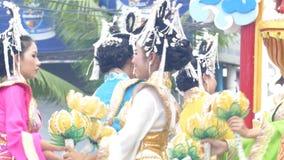 O respeito ao deus do chinês o festival anual video estoque