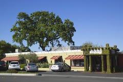 O restaurante de Hurley em Yountville, Napa Valley Imagem de Stock Royalty Free