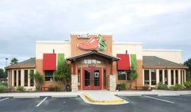 O restaurante do pimentão Imagens de Stock Royalty Free