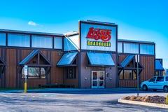 O restaurante do Roadhouse do Logan imagem de stock