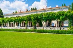 O restaurante no jardim Fotografia de Stock Royalty Free