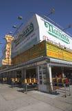 O restaurante original em Coney Island, New York de Nathan s Fotografia de Stock