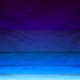 O retângulo abstrato do papel azul dá forma ao fundo Imagem de Stock