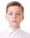 Menino do adolescente Imagem de Stock Royalty Free